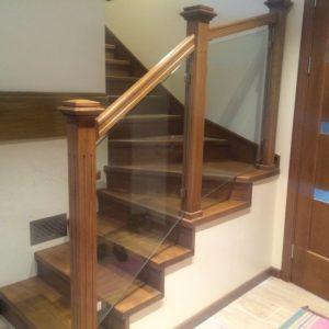 Ограждение лестницы Сиверский3