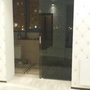 Дверь выход на теплый балкон1