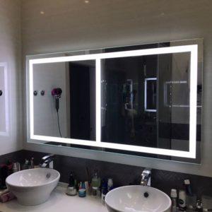 Зеркало с подсветкой1