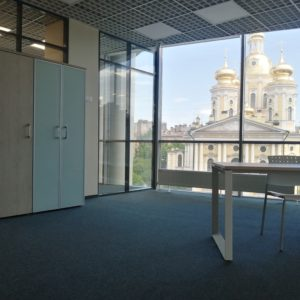 Стеклянные ограждения офиса. м. Достоевская. 2021г9