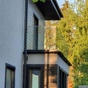 Ограждения балкона. Лисий Нос. 2021г1