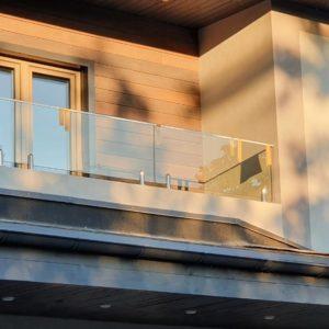 Ограждения балкона. Лисий Нос. 2021г2